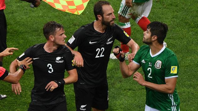 Mexiko nach 2:1 gegen Neuseeland Gruppen-Sieger (Bild: AFP)