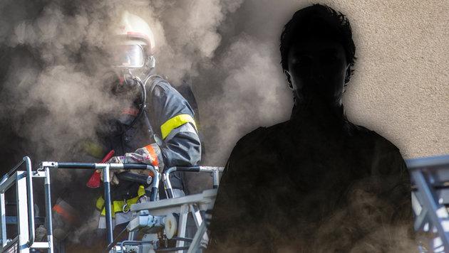 """Brandleger in Asylheim lebte bei uns als """"U-Boot"""" (Bild: APA(Symbolbild), thinkstockphotos.de, krone.at-Grafik)"""
