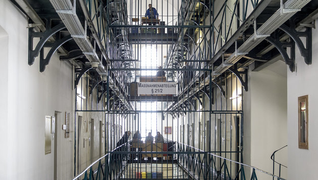 Die Haftanstalt Graz-Karlau (Bild: APA/ERWIN SCHERIAU)