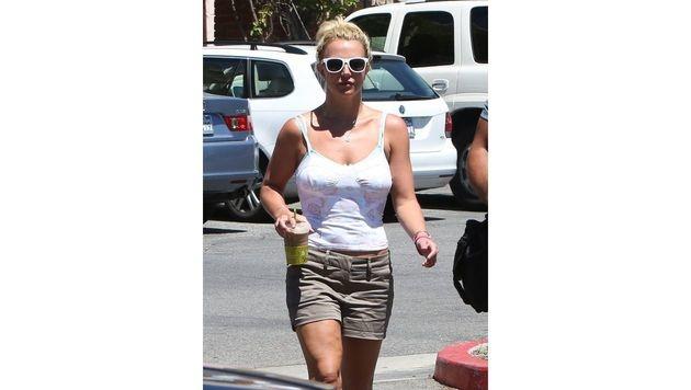 Auch ein hartes Training hilft leider manchmal nicht gegen Cellulite, wie Britney Spears beweist. (Bild: www.PPS.at)