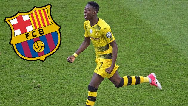 Barca bietet 70 Millionen für Dortmunds Dembele (Bild: AFP)