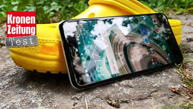 HTC U11: Das weltweit erste Quetsch-Handy im Test (Bild: Dominik Erlinger)