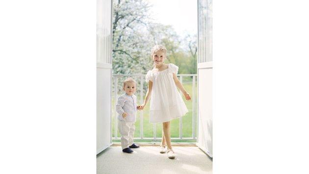 Prinzessin Estelle und Prinz Oscar (Bild: Photo: Erika Gerdemark Kungahuset.se)