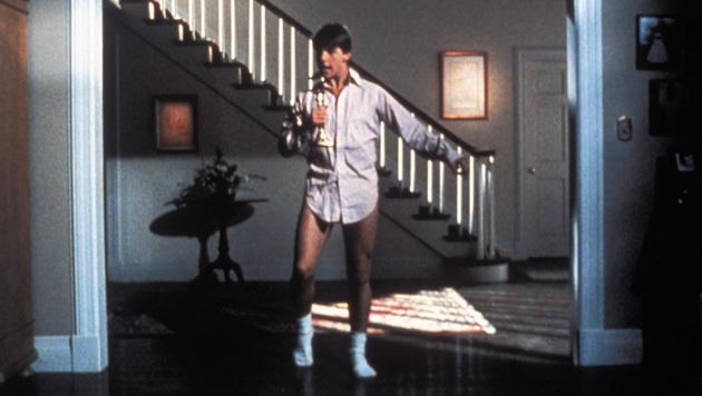 "Tom Cruises ikonische Tanzszene in ""Lockere Geschäfte"" (Bild: Hollywood Picture Press/face to face)"