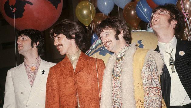 """So haben Sie """"Sgt. Pepper"""" noch nie gehört! (Bild: AP)"""