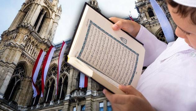 Islam-Kindergärten: Kurz erhöht nun Druck auf Wien (Bild: thinkstockphotos.de, krone.at-Grafik)
