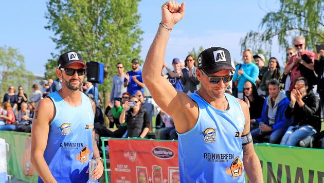 Beach-Duo Doppler/Horst startet mit Sieg in Baden (Bild: GEPA)