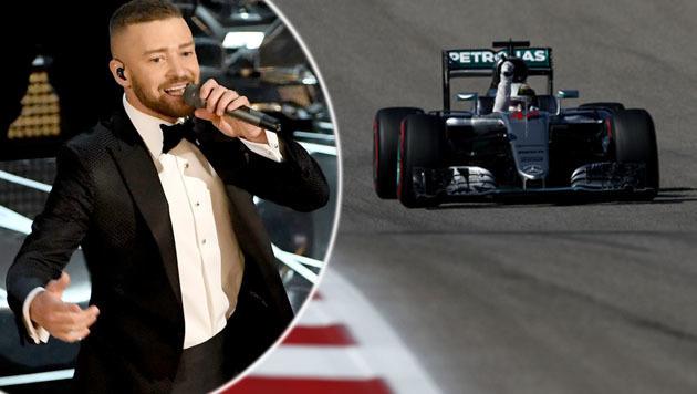 F1-Qualifying wegen Justin Timberlake verschoben (Bild: AFP)