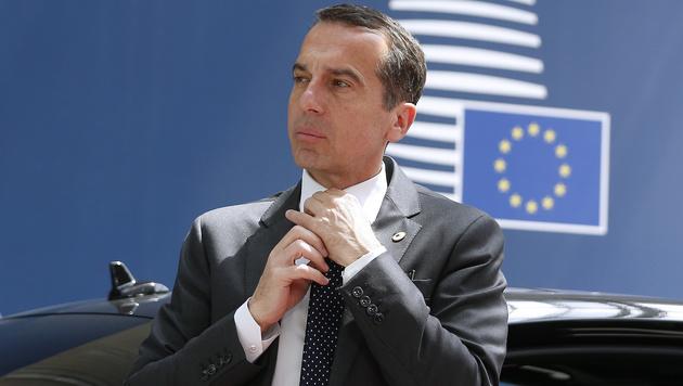 Kanzler Christian Kern (Bild: AFP)