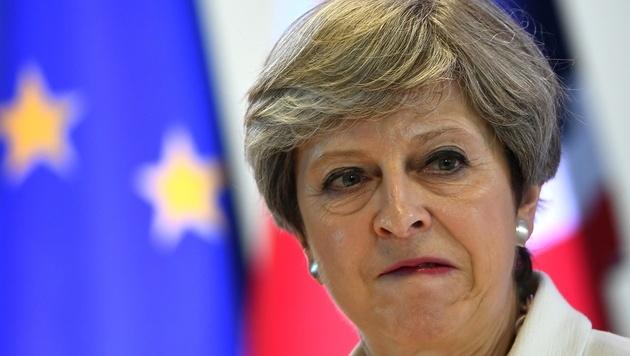 Premierministerin Theresa May (Bild: AFP)