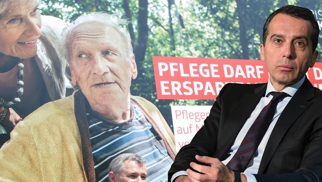 """SPÖ setzt jetzt auf """"Pflege in bester Qualität"""" (Bild: APA/GEORG HOCHMUTH, HELMUT FOHRINGER)"""