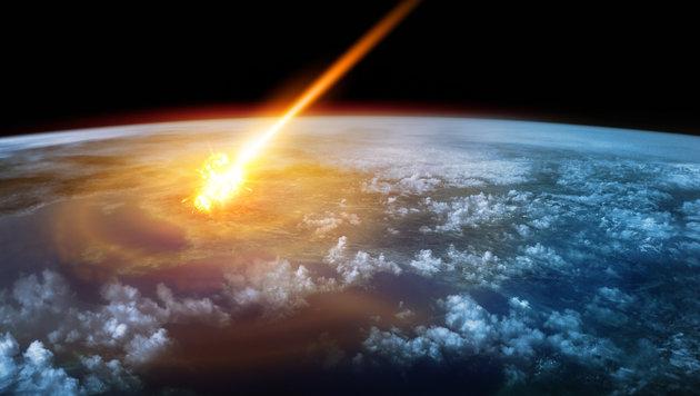 Was, wenn ein Asteroid unsere Erde trifft? (Bild: thinkstockphotos.de)