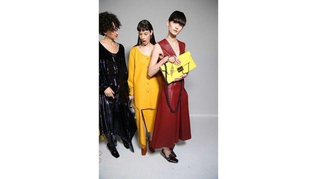Gelbe Handtasche von Mulberry (Bild: www.fashionpps.com)