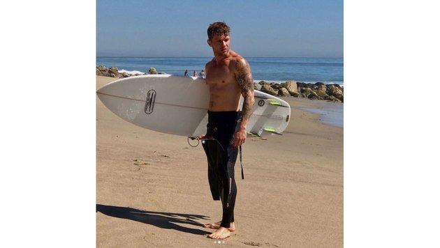 Ryan Phillippe gebräunt, muskulös und mit Tattoos. Wow! (Bild: www.PPS.at)