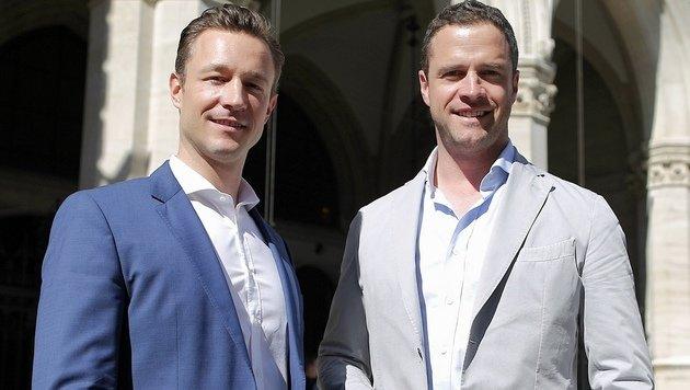 Gernot Blümel und Johann Gudenus - was trennt die beiden und was vereint sie? (Bild: Gerhard Bartel)