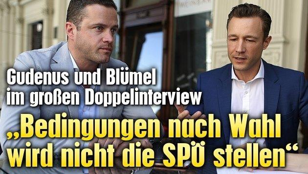 """""""Bedingungen nach Wahl wird nicht die SPÖ stellen"""" (Bild: Gerhard Bartel)"""