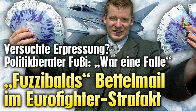 """""""Fuzzibalds"""" Bettelmail im Eurofighter-Strafakt"""
