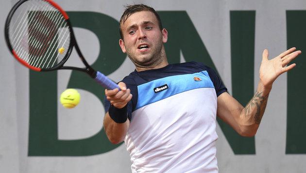 Koks-Skandal um Tennisprofi Daniel Evans (Bild: AFP)