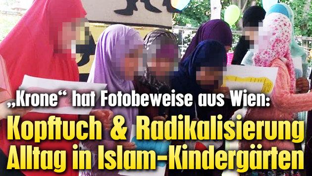 Kopftuch, Radikalisierung Alltag in Kindergärten (Bild: Privat)