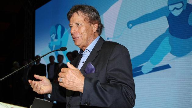 Schröcksnadel als ÖSV-Präsident wiedergewählt (Bild: GEPA)