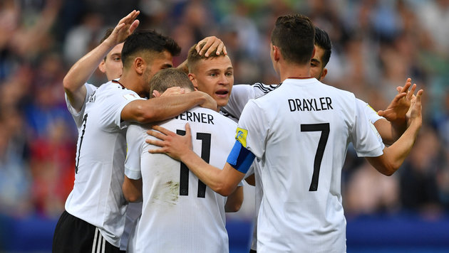 Deutschland sichert sich den Gruppensieg (Bild: AFP)