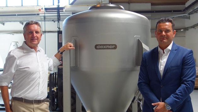 Firmen wie Manner, Recheis, Nespresso sollen auf die Anlagen von Johann und Christian Daxner setzen. (Bild: Kronenzeitung)