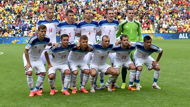 War Russlands kompletter WM-Kader 2014 gedopt? (Bild: GEPA)