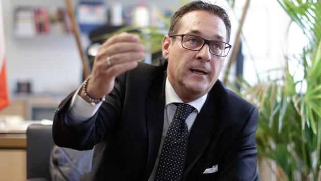 Heinz-Christian Strache hatte Kampl 2014 aus der Partei ausgeschlossen. (Bild: APA/GEORG HOCHMUTH)