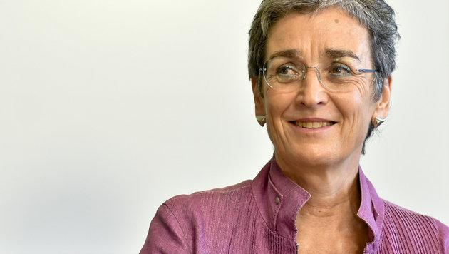 Grünen-Spitzenkandidatin Ulrike Lunacek (Bild: APA/HERBERT NEUBAUER)