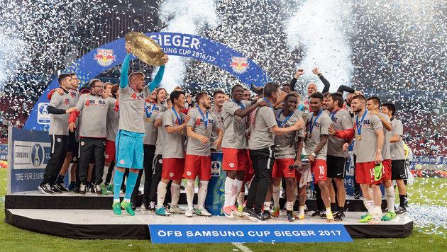 Red Bull Salzburg muss bei Deutschlandsberg ran (Bild: APA/EXPA/JOHANN GRODER)