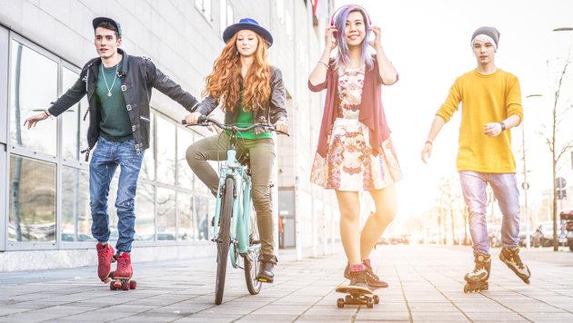 So unsportlich ist Östereichs Jugend (Bild: thinkstockphotos.de)