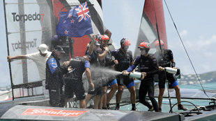 "Team New Zealand gewinnt 35. America""s-Cup-Auflage (Bild: Associated Press)"