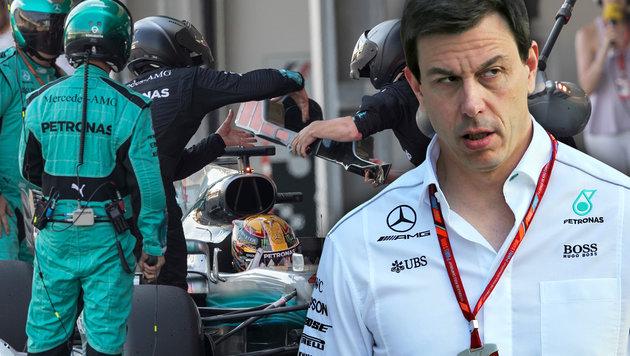 """""""Rivalität zwischen Hamilton & Vettel wird größer"""" (Bild: AP, GEPA, Krone.at-Grafik)"""