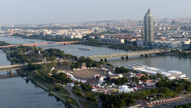 Donauinselfest: Fendrich war krönender Abschluss (Bild: APA/HERBERT P. OCZERET)