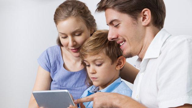 Expertenrat: Kinder im Netz nicht alleine lassen! (Bild: thinkstockphotos.de)
