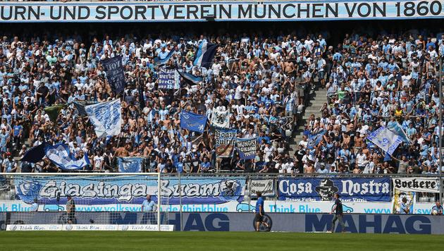 1860 München vor Auszug aus der Allianz Arena (Bild: GEPA)