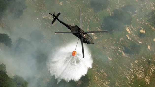 Nur noch vier Black Hawk des Heeres einsatzbereit (Bild: Bundesheer)