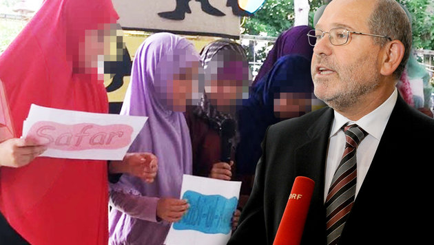 Der muslimische SPÖ-Gemeinderat Omar Al-Rawi attackiert krone.at. (Bild: APA/ROLAND SCHLAGER, Privat, Krone.at-Grafik)