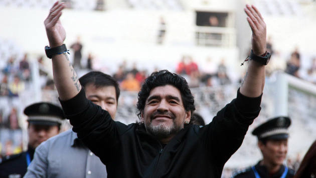 Neapel macht Maradona zum Ehrenbürger (Bild: GEPA)