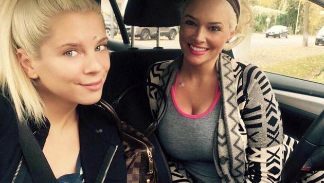 Daniela Katzenberger mit Schwester Jenny Frankhauser (Bild: face to face)