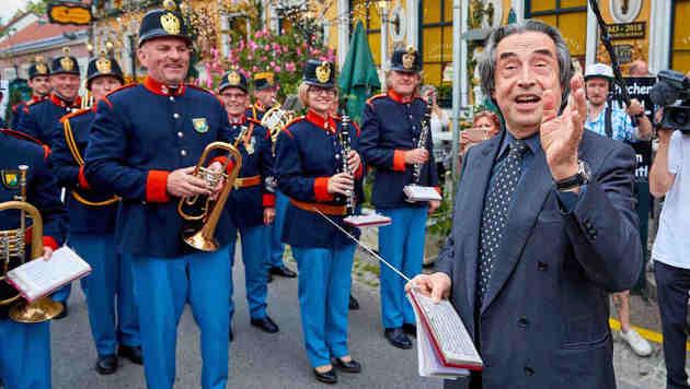 Riccardo Muti gab  Ton an. (Bild: Starpix/ Alexander TUMA)