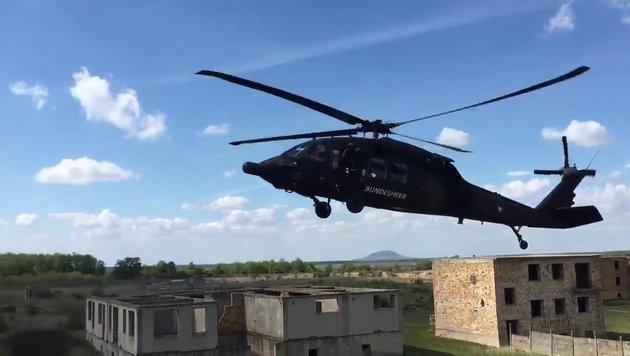 Nur noch vier Black Hawk des Heeres einsatzbereit (Bild: Krone)
