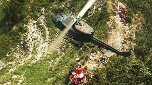 Auch bei Katastrophenszenarien eine wichtige Unterstützung: Der Black Hawk des Bundesheeres (Bild: Bundesheer)
