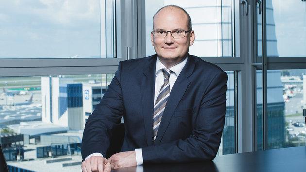 Julian Jäger, Vorstand Flughafen Wien