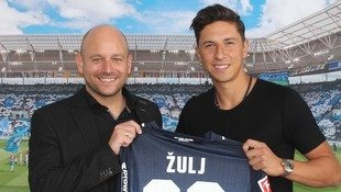 Genial! Robert Zulj wechselt zur TSG Hoffenheim (Bild: TSG Hoffenheim)