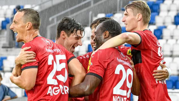 SCR Altach startet mit 1:0-Sieg in die EL-Quali! (Bild: GEPA)