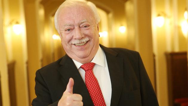 Wiens Bürgermeister Michael Häupl (Bild: Peter Tomschi)