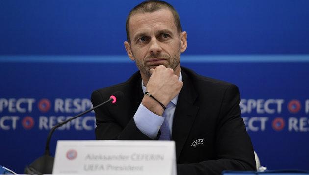 Aleksander Ceferin (Bild: AFP)