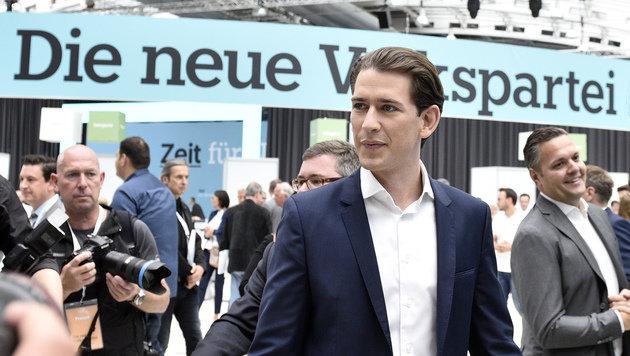 Sebastian Kurz, ÖVP (Bild: APA/Hans Punz)