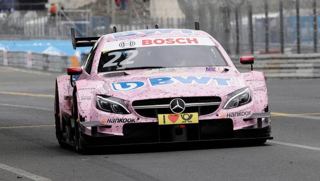 Formel 1: Lucas Auer darf für Force India testen (Bild: GEPA)